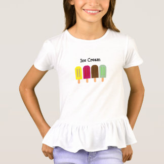 T-shirt Barre de crème glacée