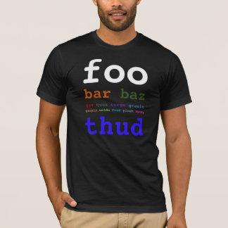 T-shirt Barre de Foo
