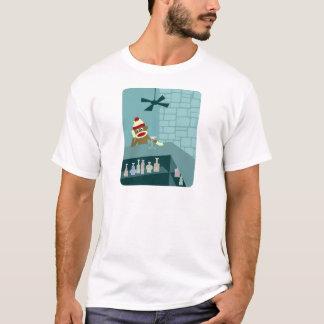 T-shirt Barre de Martini de singe de chaussette