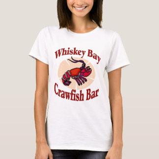 T-shirt Barre d'écrevisses de baie de whiskey