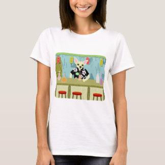 T-shirt Barre en bambou de Tiki de chiwawa