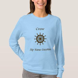T-shirt - barre, nom de bateau (femmes)