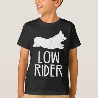 T-shirt Bas cavalier de corgi