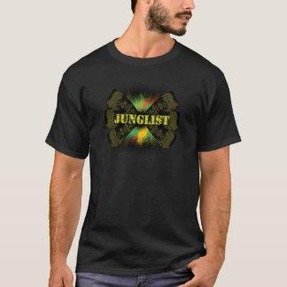 T-shirt bas de soundsystem de tambour de junglist