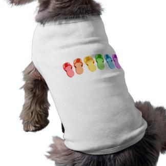 T-shirt Bascules électroniques d'arc-en-ciel
