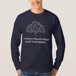 T-shirt Base au delà de lumière de croyance l'équipe de