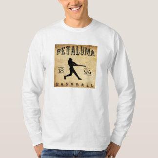 T-shirt Base-ball 1894 de Petaluma la Californie