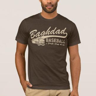 T-shirt base-ball de Bagdad - je jette la chaussure à vous