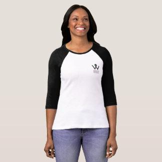 T-shirt Base-ball de logo de WDI