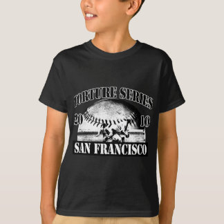T-shirt Base-ball de série de torture San Francisco 2010