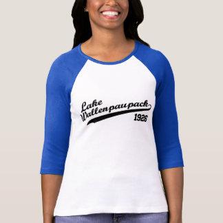 T-shirt Base-ball de Wallenpauapack de lac 3/4 douille