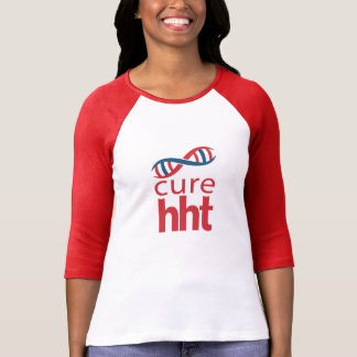 T-shirt Base-ball Jersey de dames du traitement HHT