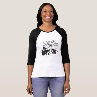T-shirt Base-ball Jersey de tango de Teton