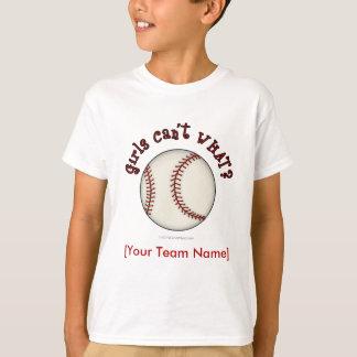 T-shirt Base-ball-Rouge