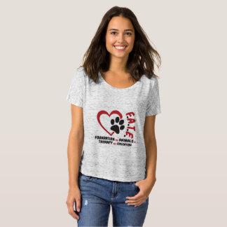 T-shirt Base pour des animaux dans la thérapie et