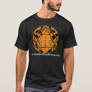 T-shirt Bases d'or de camp de crapaud