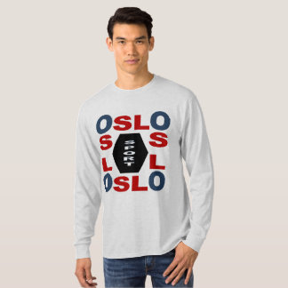 T-SHIRT    BASIQUE  DESIGN   OSLO   SPORT