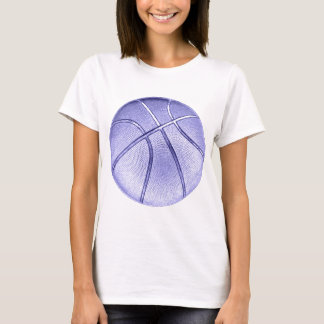 T-shirt Basket-ball bleu