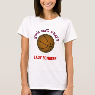 T-shirt Basket-ball - Brown/rose
