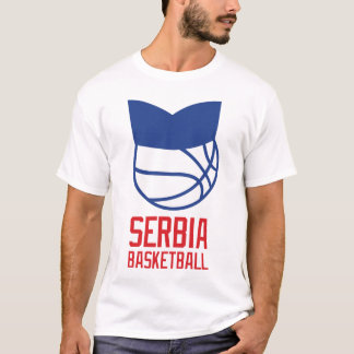 T-shirt Basket-ball de la Serbie