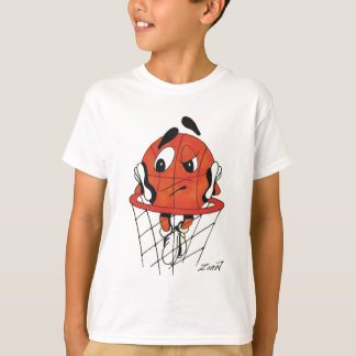 T-shirt Basket-ball ennuyé