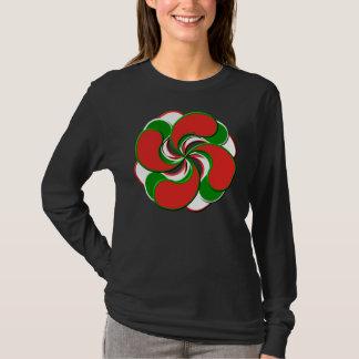 T-shirt basque de fleur