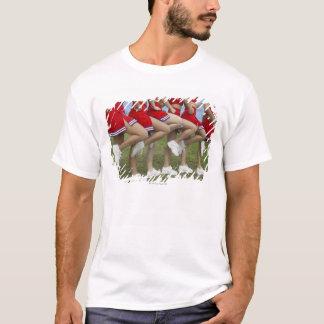 T-shirt Basse vue de section d'un groupe de majorettes