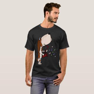 T-shirt Basset Hound drôle jouant l'art de saxophone