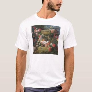T-shirt Bassin et fleurs