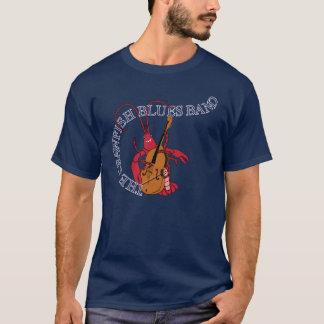 T-shirt Bassiste de bande de bleus d'écrevisses