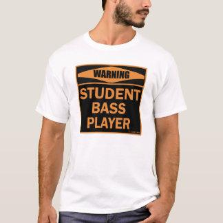 T-shirt Bassiste d'étudiant