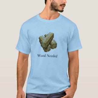 T-shirt Bastion - nécessaire en bois - bleu-clair
