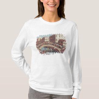 T-shirt Bataille avec des bâtons sur le Ponte Père Noël