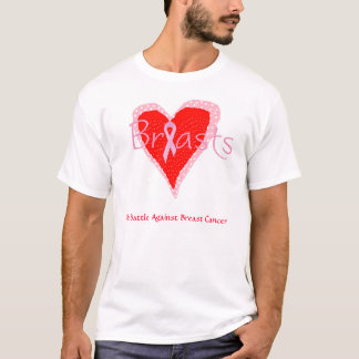 T-shirt Bataille de cancer du sein