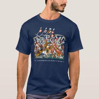 T-shirt Bataille de chevaliers
