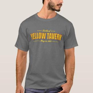 T-shirt Bataille de taverne jaune