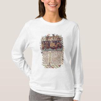 T-shirt Bataille d'Ecluse, de 'Chronicle de Froissart