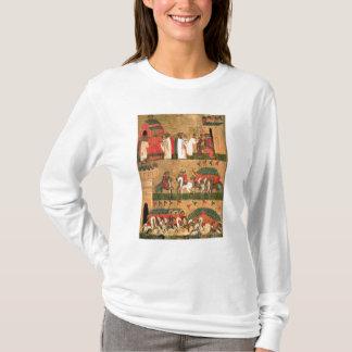 T-shirt Bataille du Novgorodians avec le Suzdalians