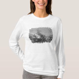T-shirt Bataille navale de port grand, Îles Maurice, en