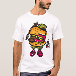 T-shirt Bâtard d'hamburger