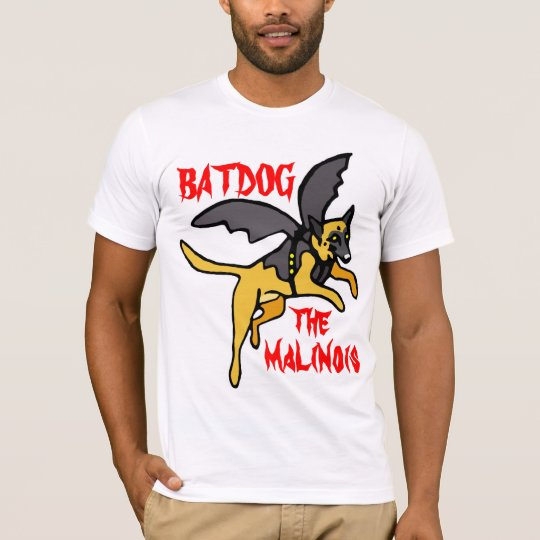 T-Shirt Batdog the malinois