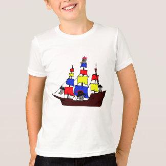 T-shirt bateau de pirate