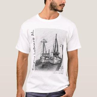 T-shirt Bateaux de crevette, AL de LaBatre de bayou, John
