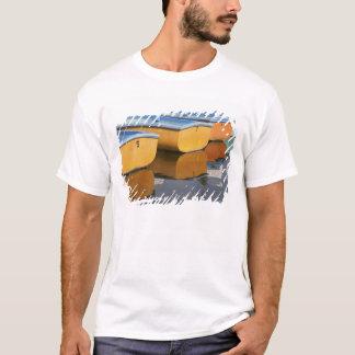 T-shirt Bateaux de rangée de la Henley-sur-Tamise sur la