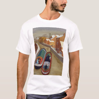 T-shirt Bateaux étroits