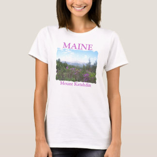 T-shirt Bâti Katahdin et fleurs sauvages
