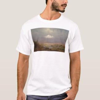 T-shirt Bâti Shasta et lac Shastina (1151)