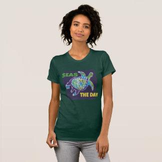 T-shirt Batik de tortue de mer, par McCoy Forsythe