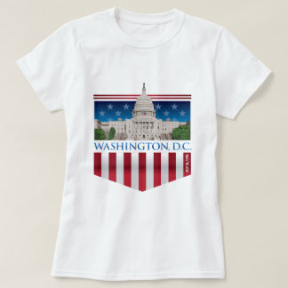 T-shirt Bâtiment de capitol - Washington DC