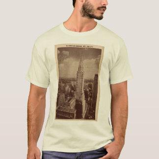 T-shirt Bâtiment de Chrystler